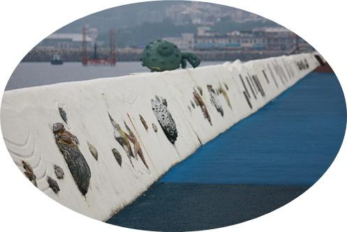 岸壁アート