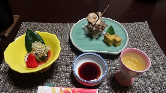 弓ヶ浜いち番館食事 (1)