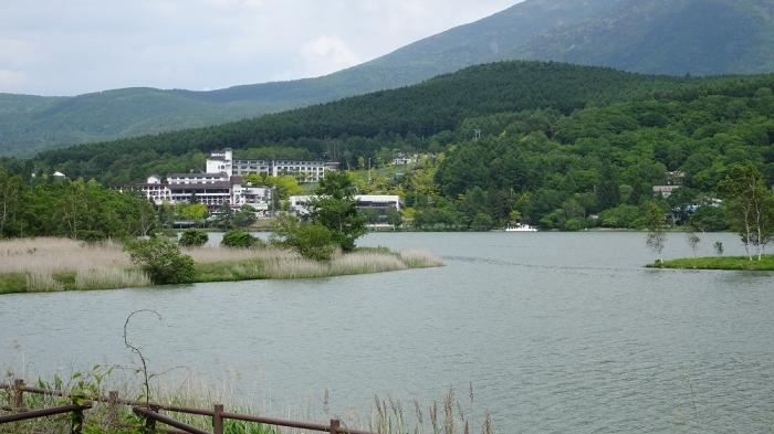 白樺湖と八島湿原 (2)