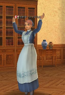 英国風メイド服
