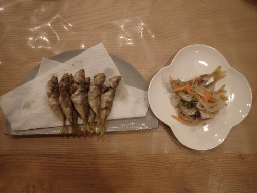 豆アジ南蛮・素揚げ