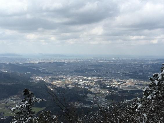 宝満山山頂展望