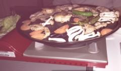 ベランダ焼き肉