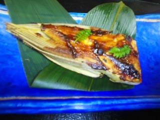 160402新筍の赤味噌焼き