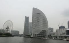 海から見る横浜