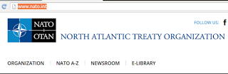 NATOのロゴも丸に十字