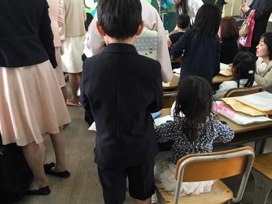 誰の入学式