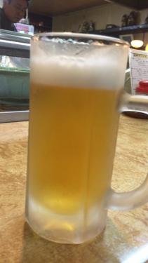 大阪新通天閣周辺新世界居酒屋串カツ富よし生ビール