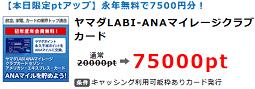 ヤマダLABI-ANAマイレージクラブ