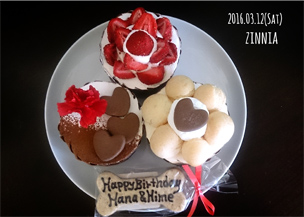 Happy birthday to 華&姫~♪(+太郎・次郎・三郎~♪)3