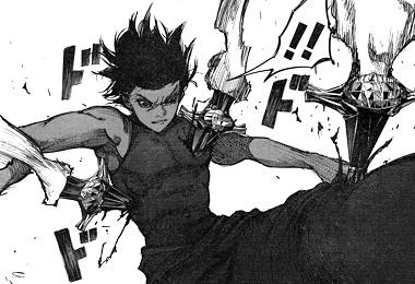 東京喰種:re84話ネタバレ感想 清子のクインゲ攻撃に被弾するアヤト