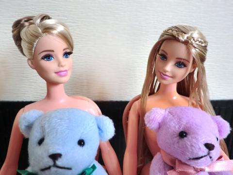 お人形さま、ありがとうお世話になります