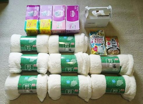支援物資(さいたま市 Y・Yさま)