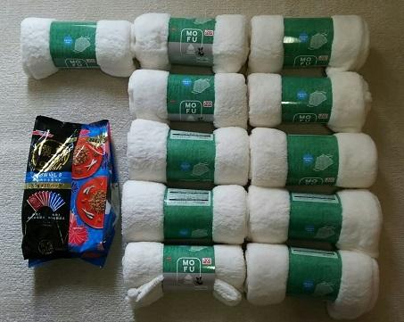 支援物資(富山県 N・Aさま)