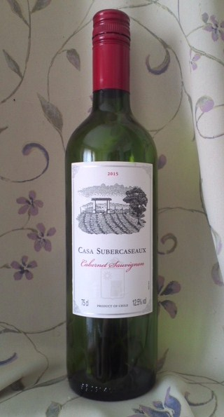 CASA SUBERCASEAUX Cabernet Sauvignon 2015(カーサ・スベルカソー カベルネ・ソーヴィニヨン)