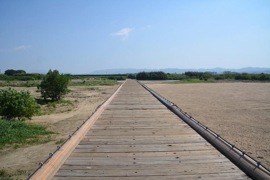 完全復旧した上津屋橋 (1)