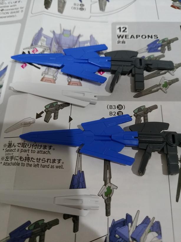 ダイバーエース武器
