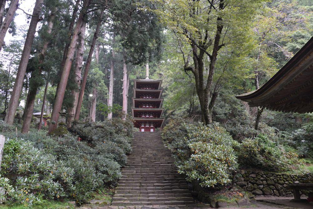 室生寺五重塔-1