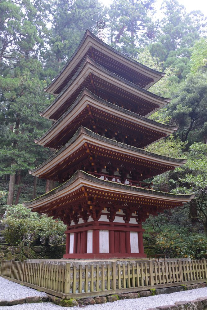 室生寺五重塔-2