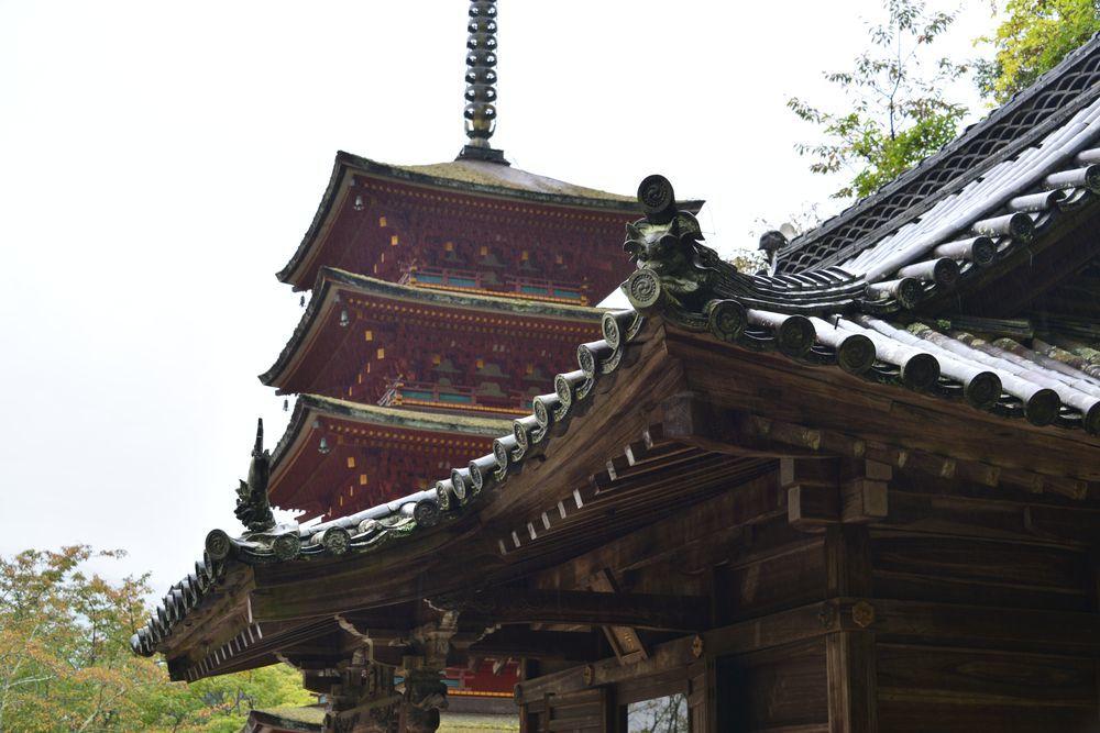 長谷寺五重塔-3