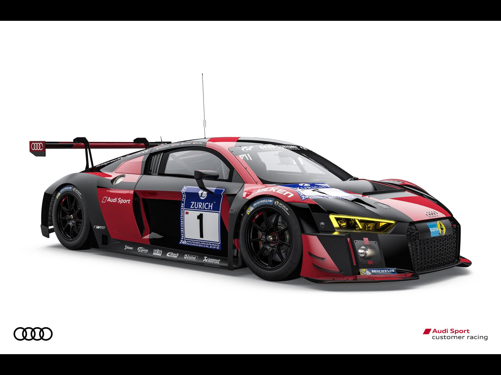 Audi R8 Lms N 252 Rburgring 24 Hour Race 2016 アウディに嵌まる