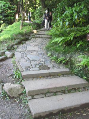 後楽園-階段