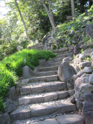 後楽園ー階段2