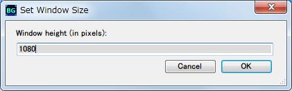 Borderless Gaming 8.4 を使って DX11 版 Dark Souls II Scholar of the First Sin をアスペクト比を維持したまま、WXUGA モニター(1920x1200)でボーダーレスフルスクリーン(仮想フルスクリーン)にする方法、Window height (in pixels) をゲーム画面で設定した解像度と同じ 1080 にセット