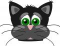 ネコ(黒猫