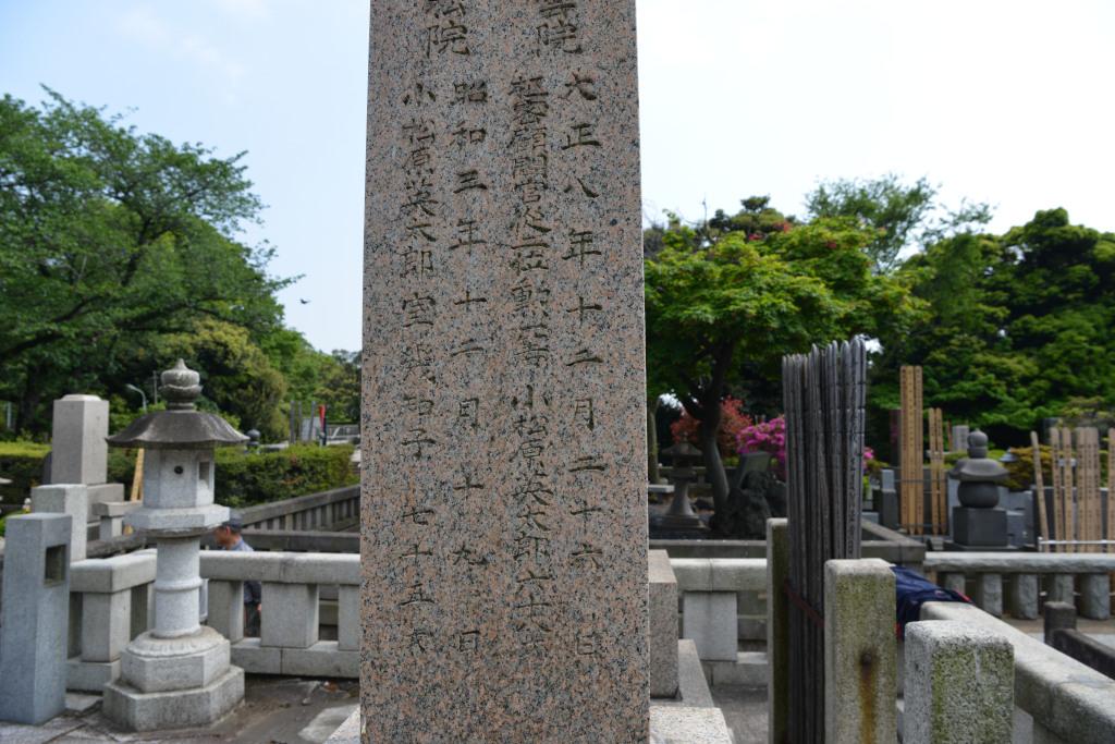 池上本門寺 境内墓地探訪 5 - 万遊歩撮