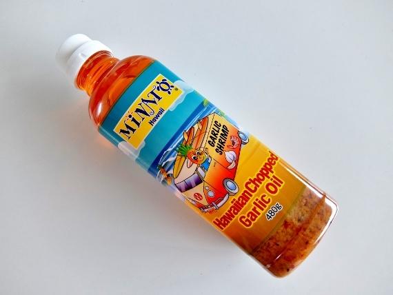 コストコ ハワイアン チョップド ガーリックオイル 899円也 MINATO Hawaiian Chopped Garlic Oil