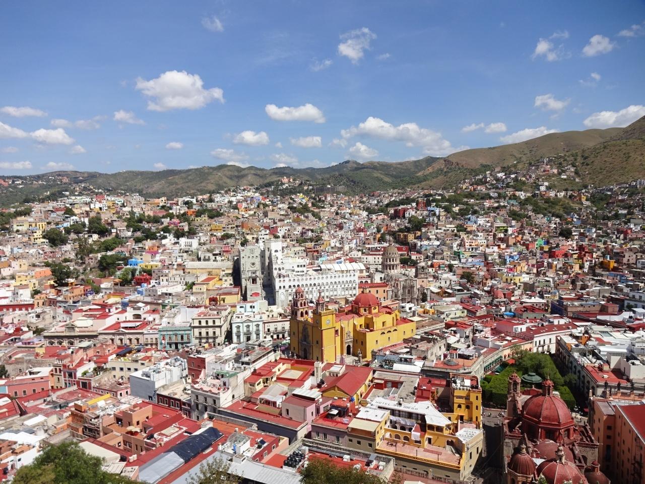 メキシコーグアナファト市街3