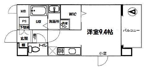 305号室間取り図
