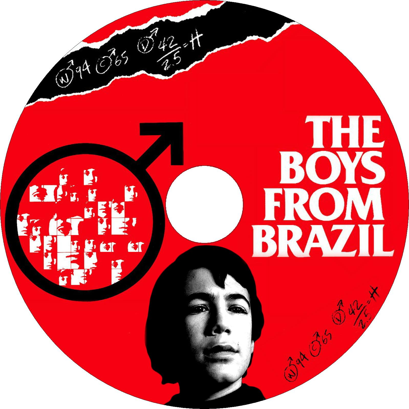 ブラジルから来た少年 ラベル