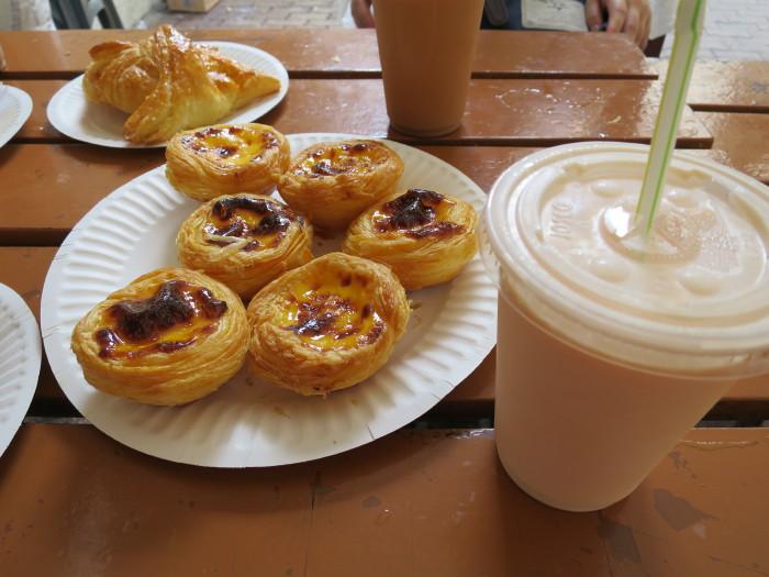 Cafe e Nata マカオ 朝食