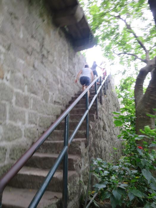 マカオ モンテの砦(大砲台)
