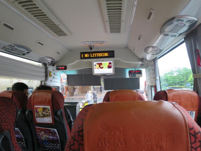 マカオ カジノ バス