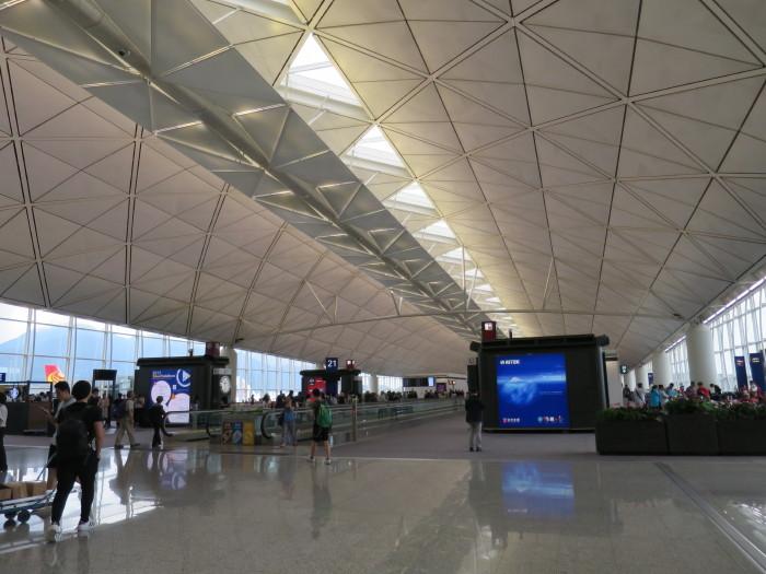香港空港 JAL/CX 28番ゲート
