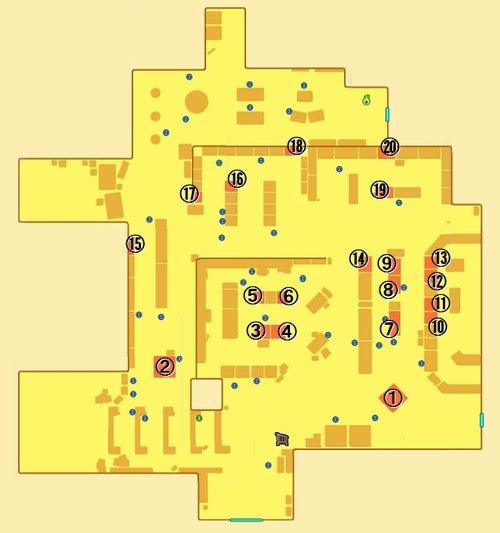 妖怪ウォッチ3 モーシンデルマートのマップ 地図 商品の場所一覧 まとめ
