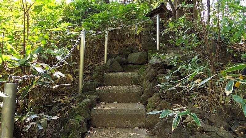 「境富士(杵築大社の富士山)」ー武蔵野市指定史跡ー
