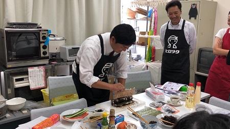 巻き寿司実践⑬