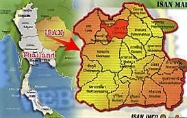 isan map