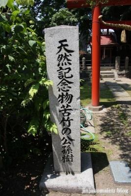 姥神神社(仙台市宮城野区銀杏町)3
