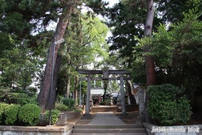 豊玉氷川神社(練馬区豊玉南)1
