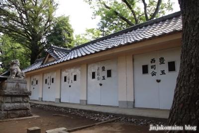豊玉氷川神社(練馬区豊玉南)7