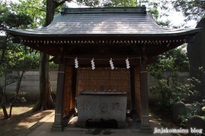 豊玉氷川神社(練馬区豊玉南)11