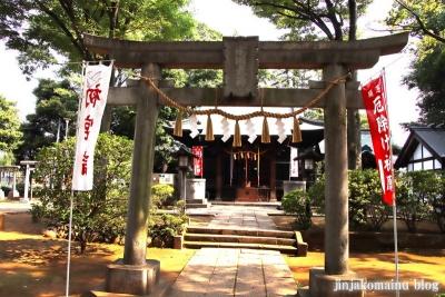 豊玉氷川神社(練馬区豊玉南)12