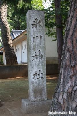 豊玉氷川神社(練馬区豊玉南)2