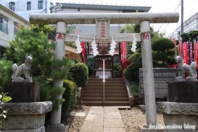 林稲荷神社(練馬区豊玉北)2