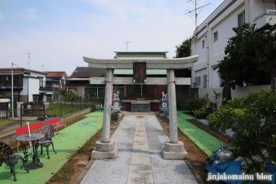 羽澤稲荷神社(練馬区羽沢)1